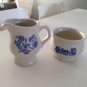 Pflatzgraff Cream & Sugar Bowl